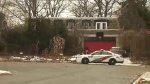 A home in Toronto's Bridle Path is seen in this photo taken on Jan. 26. (CTV News Toronto)