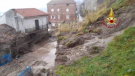 The Italian town of Rota Greca was hit by a landslide on Jan. 26, prompting the evacuation of 40 people.