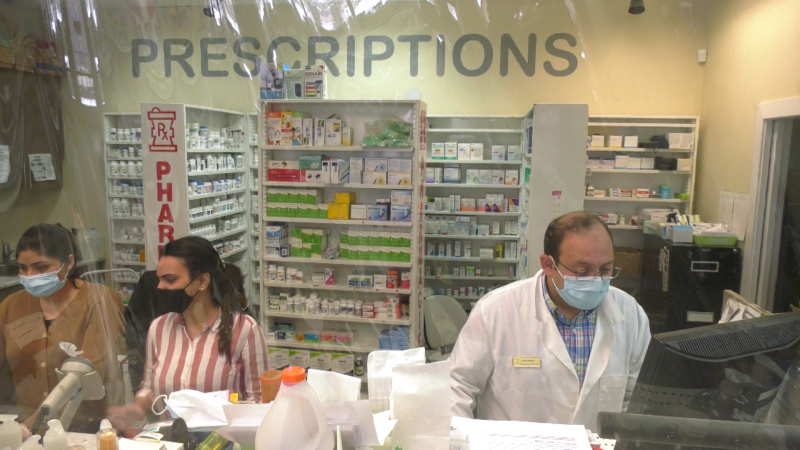 An Edmonton pharmacist is helping people who can't afford their medication. Tuesday Jan. 26, 2021 (CTV News Edmonton)