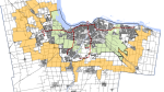 The proposed 'gold belt', in yellow, would be 53,000 hectares of protected land that would create a boundary between Ottawa's suburban communities and rural villages. (Image: City of Ottawa)