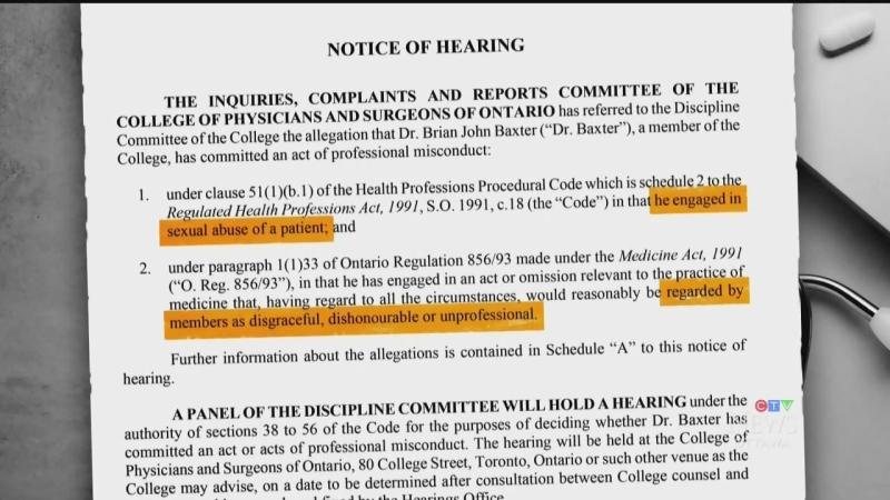 Pembroke doctor faces disciplinary hearing