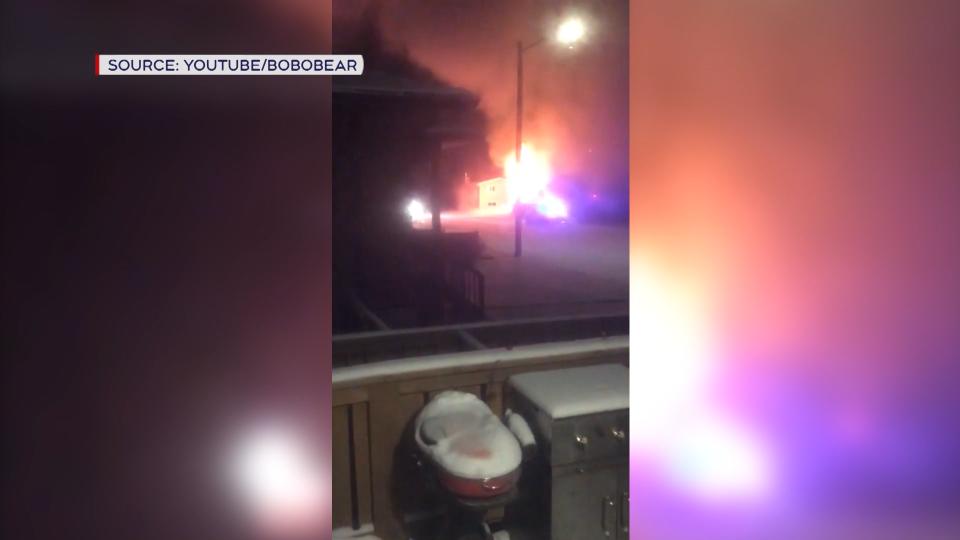 Evansburg fire
