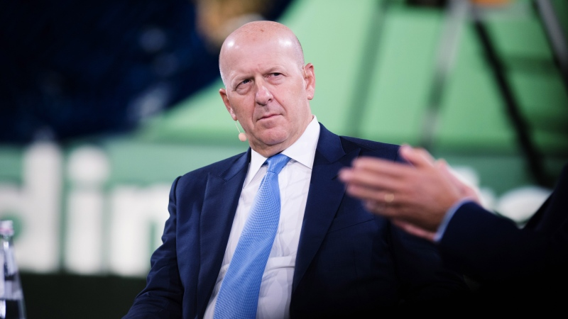 David Solomon, chief executive officer of Goldman Sachs Group Inc., listens during the Bloomberg Global Business Forum in New York, U.S., on Wednesday, Sept. 25, 2019. (Tiffany Hagler-Geard/Bloomberg/Getty Images)