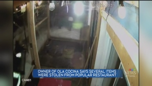 Ola Cocina Theft