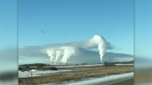 January 26th just outside Brandon. Photo by Audrey Seip.