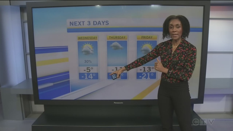 CTV Morning Live Weather Jan 27