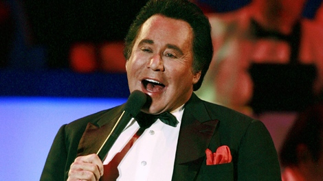 Wayne Newton performs during the grand opening of his new show, Once Before I Go, Wednesday, Oct. 28, 2009 at The Tropicana Hotel and Casino in Las Vegas. (AP / Eric Jamison)