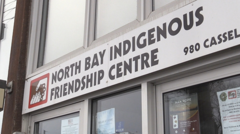 North Bay Indigenous Friendship Centre. Jan. 26/21 (Eric Taschner/CTV Northern Ontario)