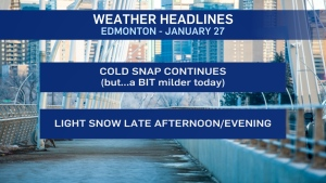 Jan. 27 morning headlines