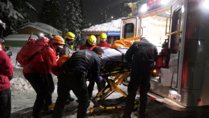 North Shore Rescue helped a man on the North Shore after he got swept up in an avalanche on Jan. 26, 2021.
