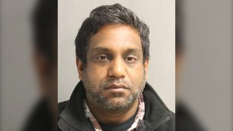 Kieran Naidoo is seen in this photograph. (Toronto Police Service)