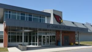 St. Charles College in Sudbury. (File)