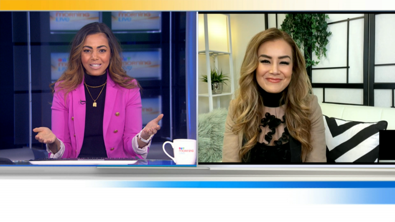 """We'll talk to """"The Social"""" Host Melissa Grelo about """"In This Together, a Bell Let's Talk Day Special"""""""