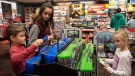 Shopping at a GameStop at Broadway Square Mall in Tyler, Texas, on Nov. 20, 2018. (Sarah A. Miller / Tyler Morning Telegraph via AP, File)