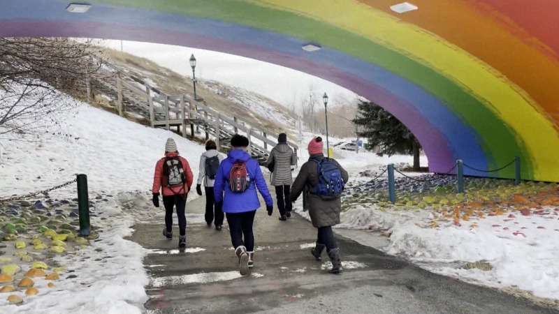 Author of Calgary's Best Walks, Lori Beattie shares a walk that combines nature and art.