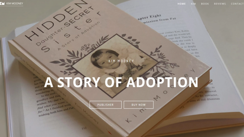 We talk to author Kim Mooney about the story of her adoption in the 1950's and where she is now.