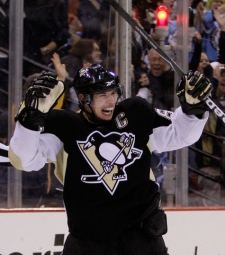 Sidney Crosby of the Penguins.