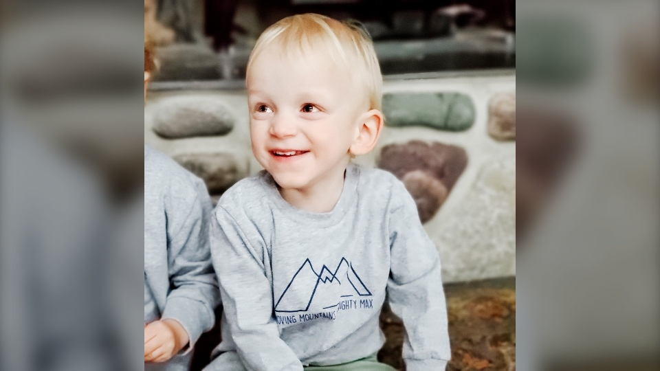Family of an Alberta toddler known as Mighty Max after being diagnosed with Type 2 SMA at 22 months old, says they are relieved by the announcement. (Courtesy Bryarly Parker)