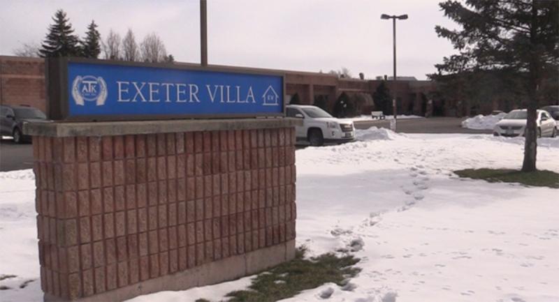 Exeter Villa long-term care home in Exeter, Ont. (Scott Miller / CTV News)