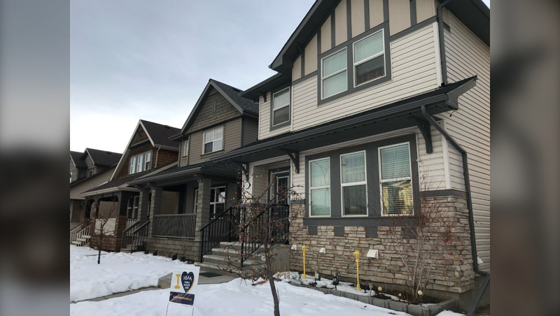 Some residents of the Skyview neighbourhood in Calgary said they were surprised to receive notices from bill collectors saying they owed unpaid homeowners association membership dues