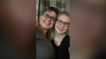 Ceara Publuske and her mom, Cyndi (Supplied: Publuske family)
