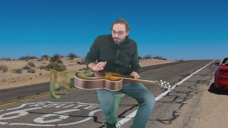 Unique cover of Route 66 from Kapuskasing