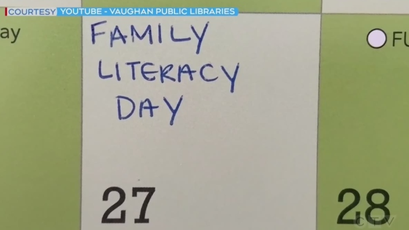Improving literacy together as a family