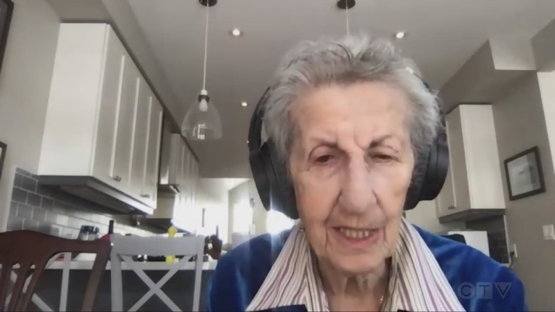 Full interview with Auschwitz survivor Eva Olsson