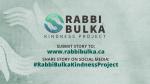 Rabbi Bulka Kindness Project