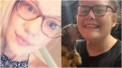 Ceara Publuske from Kitchener and Courtney Duguay from Owen Sound are seen in these undated photographs.