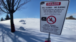Families perplexed by sledding and Skateway rules