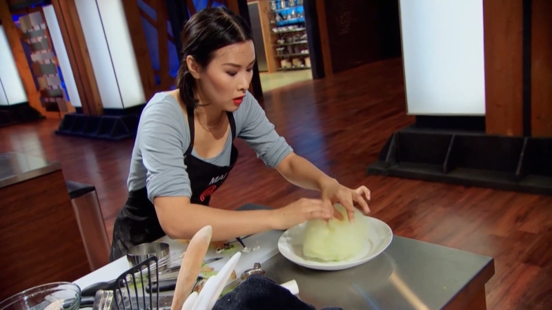Mai Nguyen from season four of Masterchef Canada. (Source: CTV)