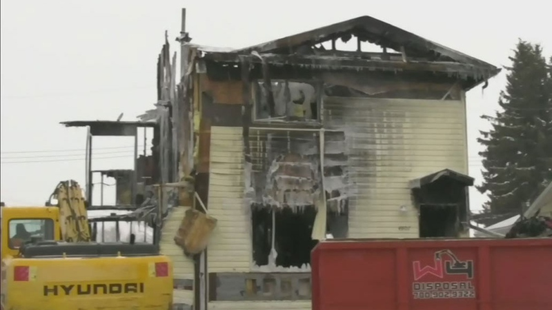 Mother, son killed in Evansburg fire