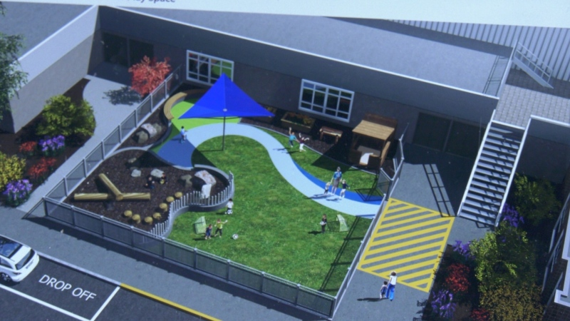 Renovations are well underway and registration is about to begin for close to 100 new child-care spaces at the Juan de Fuca Recreation Centre in Colwood.