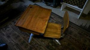 Last Word: Antique desk