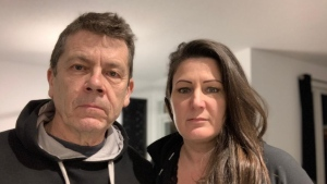 Chantal Renaud and her husband David Lackey suffer from debilitating COVID-19 long-haul symptoms and have been unable to work, but Renaud's disability claim has been denied, leaving them with the difficult decision to sell their home. Photo provided by Chantal Renaud.