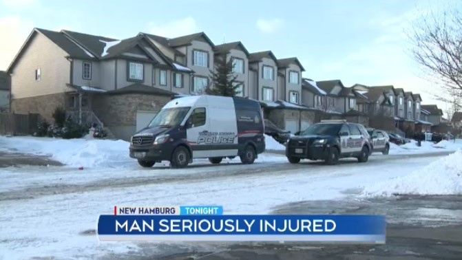 Regional police say two people were taken to hospital with knife wounds following an incident in Kitchener.