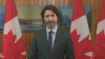 Prime Minister Justin Trudeau shares a message