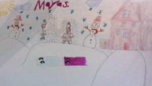 Maya Saikaly, 6 years old, St. Clare Catholic School, Orleans