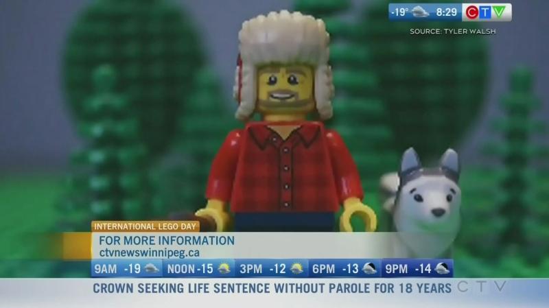 Winnipeg dad talks going viral, brick by brick