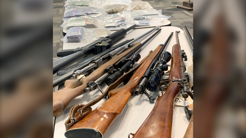 Lethbridge drug bust guns