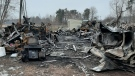 Country Charm Animal Rescue near Port Burwell, Ont. is seen after a fire on Jan. 15, 2021. (Source: Carol Nicols)