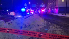 A Montreal police officer was injured during an altercation with a driver.