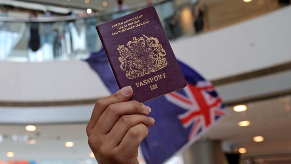British National Overseas passport