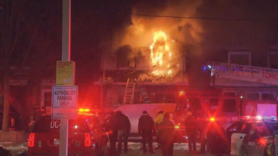 East York house fire