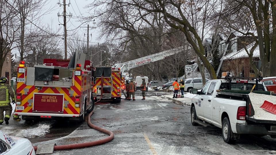 fatal fire, east-end Toronto