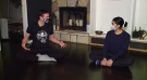 "WATCH: Jaden Lee-Lincoln learns about the benefits of ""mindful moments"" and Yoga Therapy for your mental health from Bodhi Tree Yoga"