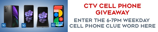 CTV Cell Phone Giveaway 6-7pm Contest