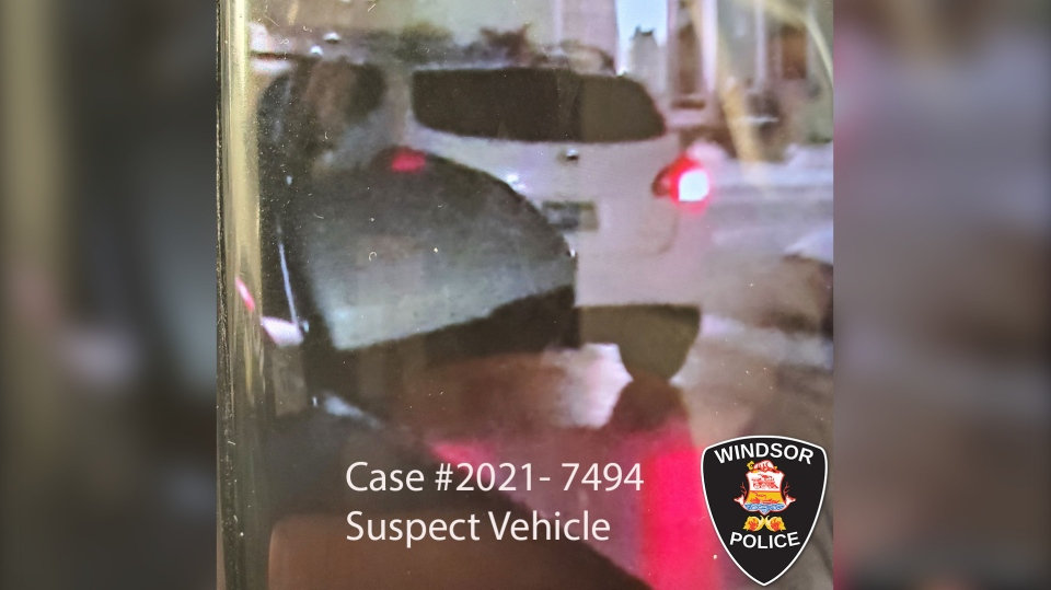 Police released a photo of the suspect vehicle in Windsor, Ont. (Courtesy Windsor police)