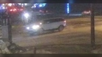 South Simcoe Police released this image of a white SUV, possibly a Range Rover, involved in a hit and run in Bradford, Ont., on Fri., Jan. 22, 2021 (Police handout)